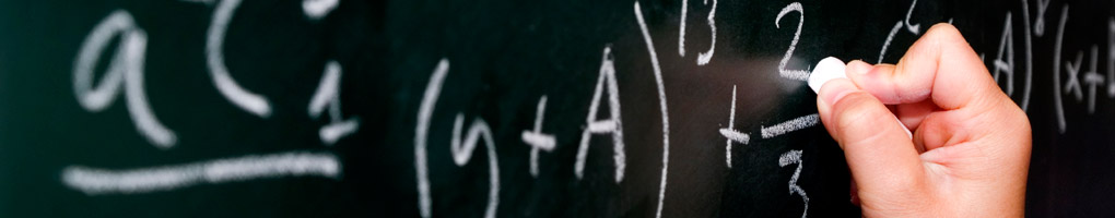 Equation on chalk